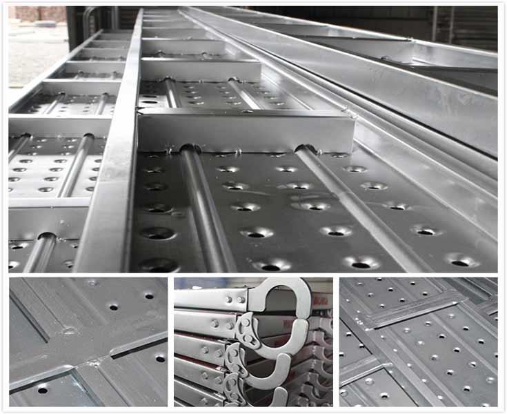 Galvanized Steel Scaffolding : Galvanized steel scaffold planks plank for