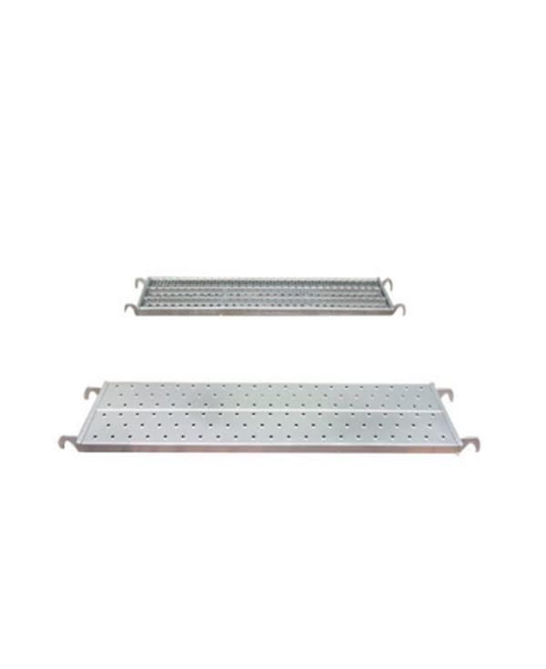 metal scaffolding plank deck