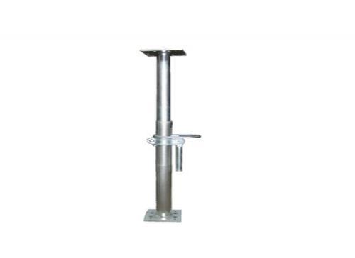 Application of Adjustable Steel Props in Building Formwork Bracing